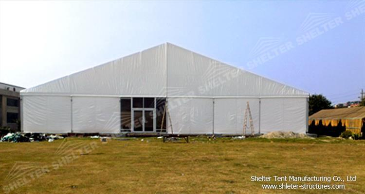 pvc warehouse tent